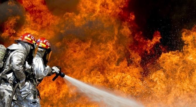 Пожар е възникнал в магазин за пиротехнически изделия, няма пострадали.