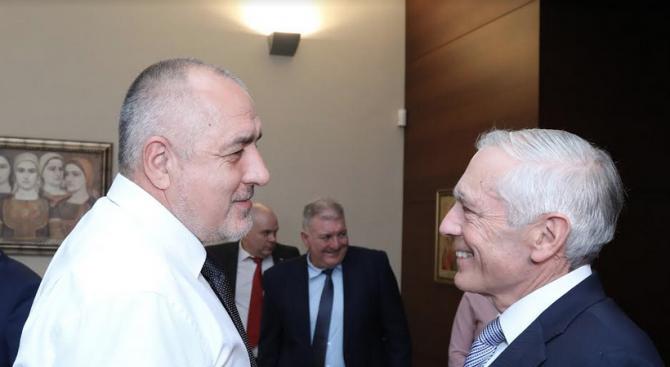 Борисов и ген. Кларк обсъдиха сътрудничество за борба на контрабандата