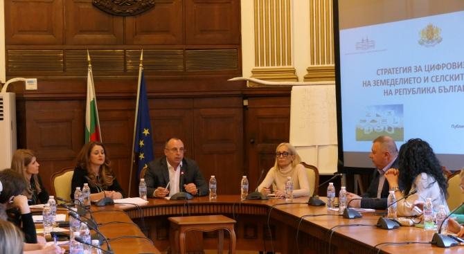 Стратегията за цифровизация на земеделието ще помогне на българските производители да управляват по-успешно стопанствата си