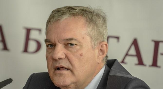 Председателят на ПП АБВ Румен Петков съобщи пред медиите в