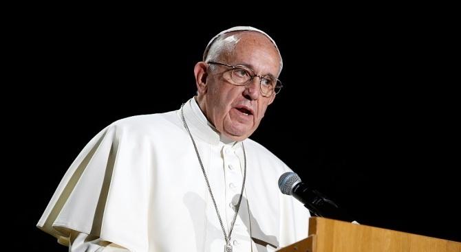 Папа Франциск осъди днес неравенството при достъпа до храна по