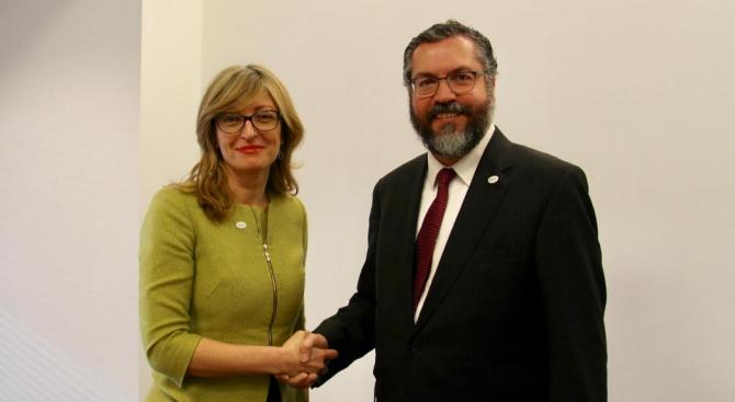Бразилия иска да възроди връзките си с България