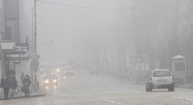 Замърсяването на въздуха от отопление и транспорт представлява значителен проблем