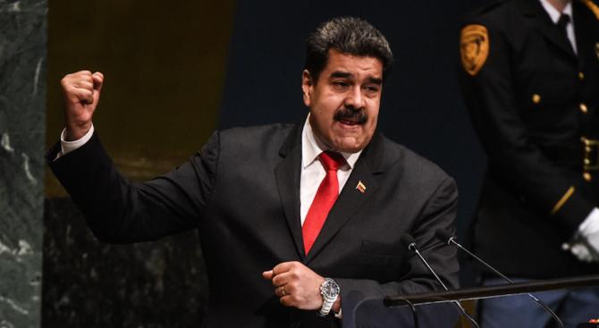 САЩ наложи санкции за 5-има венецуелци, близки до Мадуро