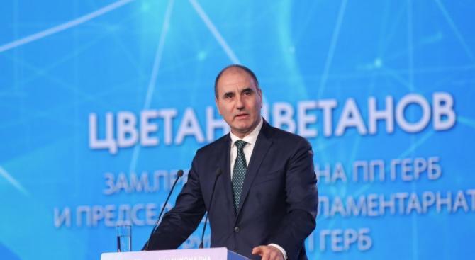 Цветанов: Нинова и БСП опитват да родят и тиражират фалшива новина