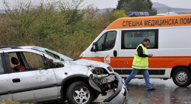 Жена загина при пътен инцидент край Луковит