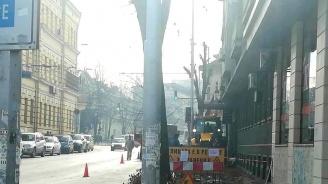 В Плевен продължават ремонтите на тротоари по основни улици