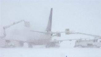 Рекордни снеговалежи в Москва (снимка)