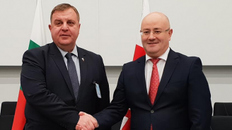 Каракачанов се срещна със своя грузински колега