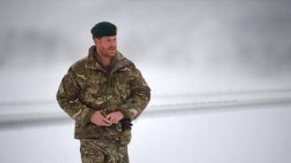 Принц Хари се срещна с британски военни в Арктика