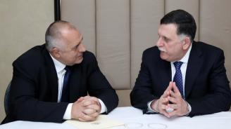 Борисов проведе среща с либийския премиер