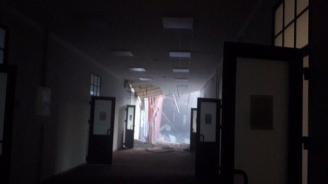 Срути се част от сграда на университета в Санкт Петербург