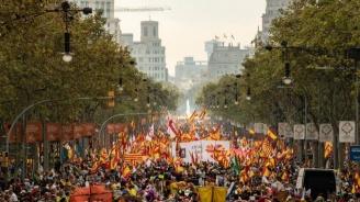 200 000 на протест в Барселона