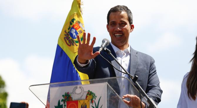 Венецуела е изгонила група евродепутати,  отишли да се срещнат с  Хуан Гуайдо