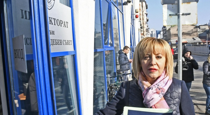 """Мая Манолова се яви по делото """"Топлофикация"""""""