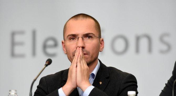 Евродепутатът и заместник-председател на ВМРО Ангел Джамбазки и общинският съветник