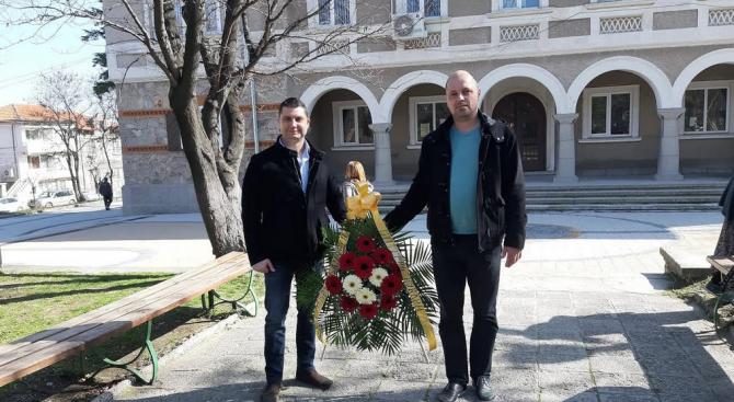 Общинската организация на ГЕРБ-Куклен с ръководител Тодор Лозанов почете 146-тата