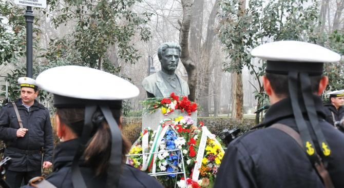 Бургазлии се преклониха пред паметта на Апостола на свободата Васил