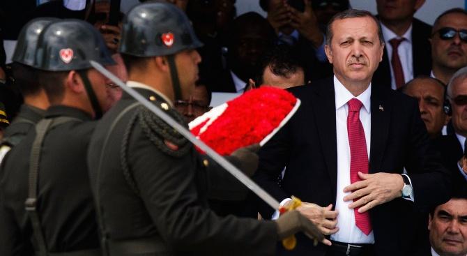 Ние няма да позволим на турския президент Реджеп Ердоган да