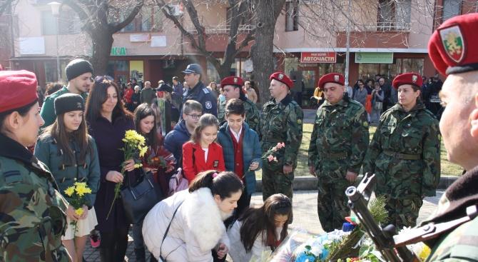 Възпоменателната церемония по случай 146-тата годишнина от гибелта на един