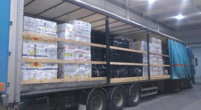 Опит за контрабанден внос от Турция на фреон в бутилки