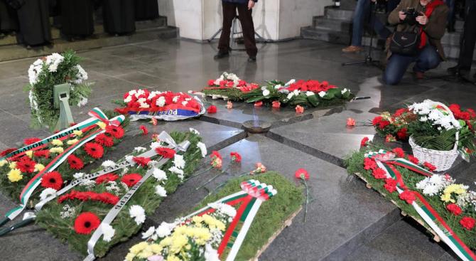 Снимка: ГЕРБ почете 141 години от Освобождението на Русе