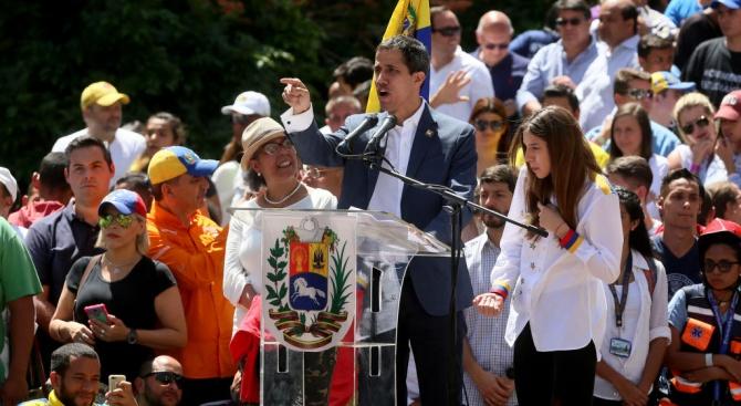Помощник-военният аташе на Венецуела в ООН, полковник Педро Чиринос, заяви