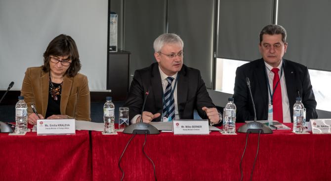 Заместник-министър Милко Бернер откри семинар за управление на риска от