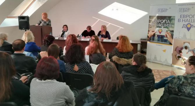 България се нуждае от 100% грамотно население. Това заяви заместник