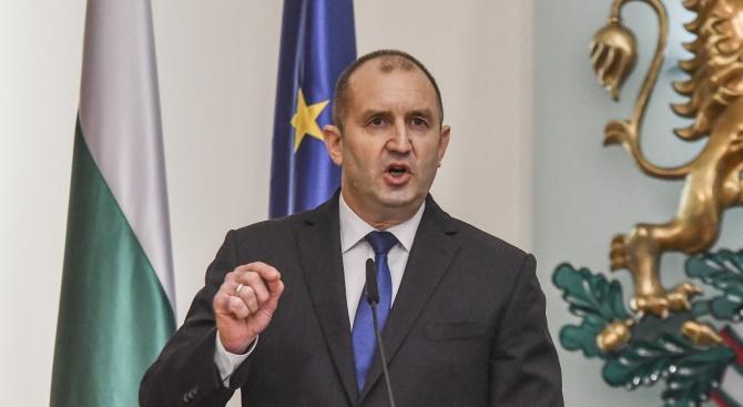 Президентът Румен Радев увери, че решението му по промените в