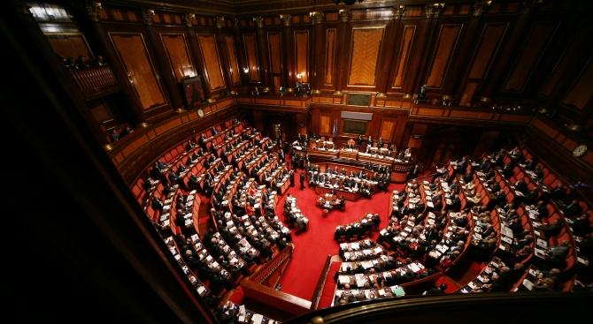 Камарата на депутатите в Италия прие вчера текст, позволяващ на