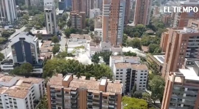 Снимка: Разрушиха дома на Пабло Ескобар