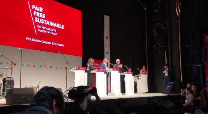 Манифестът на Партията на европейските социалисти е план за бъдещето