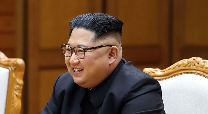 Снимка: Ким Чен-ун: Не искам децата ми да носят бремето на ядрените оръжия цял живот