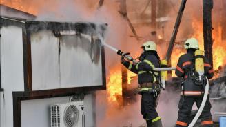 Мъж загина при пожар в дома си във Варна