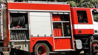Пожар на автогара Юг в Пловдив