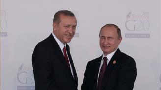 Говорителят на Кремъл: Путин изпитва доверие към Ердоган
