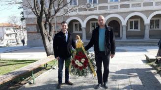 Общинската организация на ГЕРБ – Куклен отдаде почит на Апостола на свободата Васил Левски