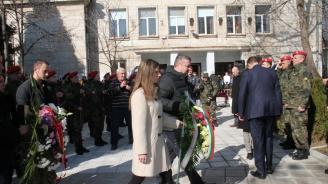 Общински съветници и членове на ГЕРБ-Хасково отдадоха почит пред делото на Апостола