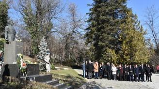 ГЕРБ в Пловдив почете 146 години от гибелта на Васил Левски