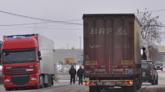 Словенската полиция откри нелегални мигранти в български ТИР