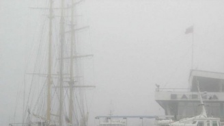 Мъгла затвори варненското пристанище