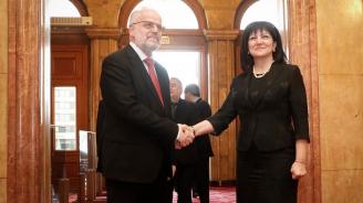 Караянчева: Ще продължим своята последователна подкрепа за усилията на Северна Македония за европейска и евроатлантическа интеграция
