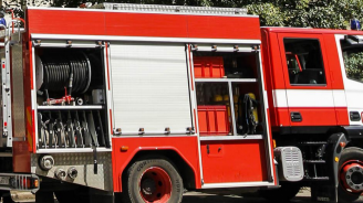Пожар изпепели директорския кабинет в Професионалната гимназия по земеделие в град Завет
