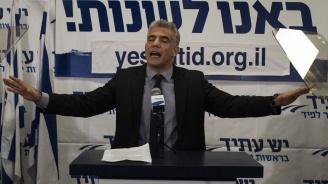 Двамата главни съперници на израелския премиер сключиха предизборен съюз