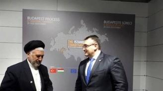 Младен Маринов проведе двустранна среща с министъра на бежанците и миграцията на Афганистан