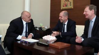 """Борисов се срещна с д-р Герхард Валерс от Фондация """"Конрад Аденауер"""""""