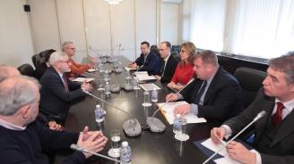 Екатерина Захариева прие учените от смесената комисия с Република Северна Македония