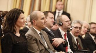 """Цветанов поздрави фондация """"Конрад Аденауер"""" по повод 25-та годишнина от началото на дейността им в България"""