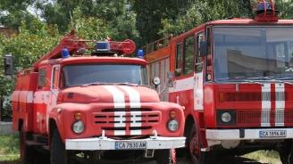 Мъж запали необитаема постройка край село Трапище